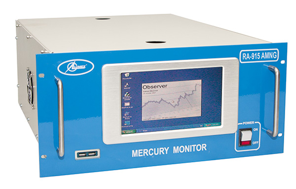 Monitor de mercurio para gas natural RA-915AMNG precio